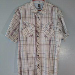 Cavi Short Sleeve Button-up